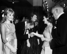 Hayley and John Mills, Ann Coates & Princess Margaret