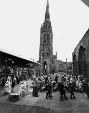 Queen Elizabeth II at Coventry Cathedral