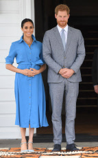 Prince Harry and Meghan Duchess of Sussex tour of Tonga - 26 Oct 2018
