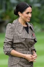 Prince Harry and Meghan Duchess of Sussex tour of New Zealand - 28 Oct 2018