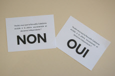 New Caledonia's vote on independence from France