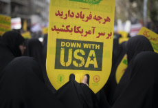 Iran-Anti U.S. demonstration-Student day