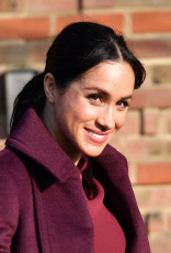 Meghan Duchess of Sussex visit to the Hubb Community Kitchen, London, UK - 21 Nov 2018