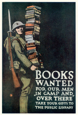 Books For Troops Poster