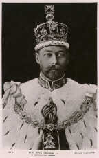 King George V in his Coronation Robes
