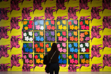 'Andy Warhol: From A to B and Back Again' exhibition, Whitney Museum of American Art, New York, USA - 24 Nov 2018