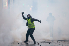 Yellow Vest protest in Paris