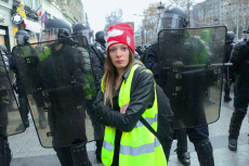 'Gilets Jaunes' protest, Paris, France - 08 Dec 2018