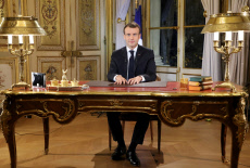 Emmanuel Macron intervention TV