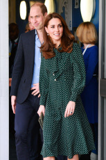 Prince William and Catherine Duchess of Cambridge visit to Evelina Children's Hospital, London, UK - 11 Dec 2018