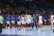 Paris: Euro 2018 Handball France vs Netherlands