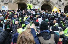 "Act 5 of the ""yellow vests"" demonstration"