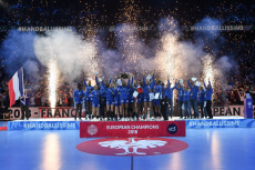 Paris: Handball Euro final France winner