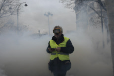 Paris : yellow vest protest act 9