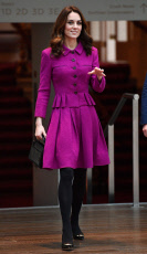 Catherine Duchess of Cambridge visit to the Royal Opera House, London, UK - 16 Jan 2019
