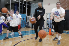 Hornets Special Olympics Basketball