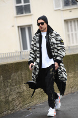 Street Style, Fall Winter 2019, Paris Fashion Week Men's, France - 20 Jan 2019