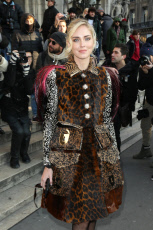 Schiaparelli Fashion Show - Outside Arrivals - Paris Fashion Week
