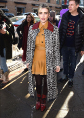 Emma Roberts out and about, Sundance Film Festival, Park City, USA - 26 Jan 2019