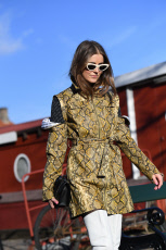Street Style, Copenhagen Fashion Week Fall/Winter 2019, Copenhagen, Denmark - 29 Jan 2019