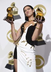 APTOPIX 61st Annual Grammy Awards - Press Room