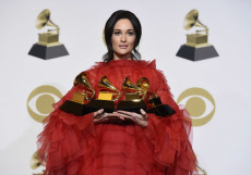 61st Annual Grammy Awards - Press Room