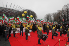 Warsaw Iranian opposition rally