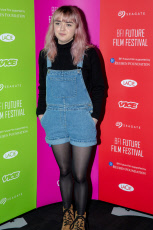 Maisie Williams attends the BFI Future Film Festival at BFI Southbank