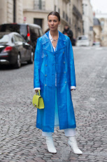 Street Style, Fall Winter 2019, Paris Fashion Week, France - 02 Mar 2019