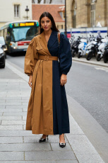 Street Style, Fall Winter 2019, Paris Fashion Week, France - 03 Mar 2019