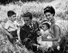 Princess Margaret, Lord Snowdon and their children