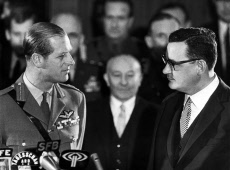 Prince Philip & Klaus Schutz, Mayor of West Berlin