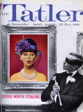 Tatler cover 'Clothes Worth Stealing' 1961