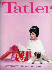 Tatler cover 'Clothes for the Dog You Lead' 1961