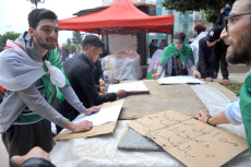 Algeria protest against President Abdelaziz Bouteflika's fifth term