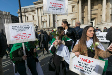Democracy in Algeria protest, London, UK - 09 Mar 2019