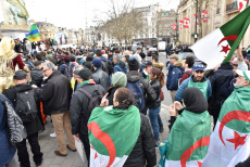 Democracy in Algeria protest, London, UK - 09 Mar 2019.