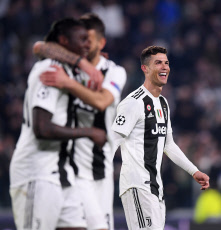 (SP)ITALY-TURIN-SOCCER-UEFA CHAMPIONS LEAGUE-JUVENTUS VS ATLETICO MADRID