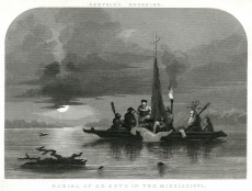 Burial of De Soto on the Mississippi