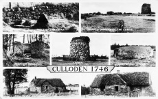 Locations connected with the Battle of Culloden, Scotland