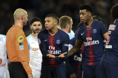 Football: French Classico Paris-Saint-Germain vs Olympique Marseille