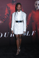"Lupita Nyong'o  at Universal Pictures ""US"" Premiere at MoMA"