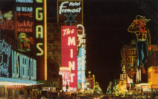 Neon signs in Fremont Street, Las Vegas, Nevada, USA