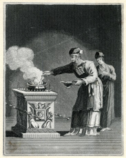 Priest at the Golden Altar of Incense