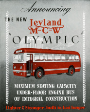 Advert, New Olympic coach by Leyland