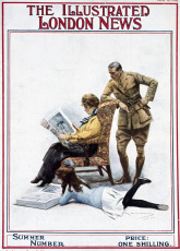 Front cover, Illustrated London News, Summer Number 1915