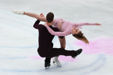 (SP)JAPAN-SAITAMA-FIGURE SKATING-WORLD CHAMPIONSHIPS-ICE DANCE