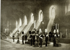 King Edward VII lying in state, Westminster Hall, London