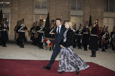 Paris: Guests at the state dinner between Macron and Xi Jinping