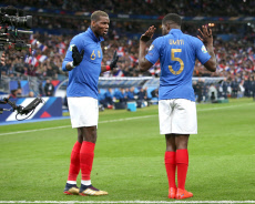 Saint-Denis:Euro 2020 Qualification match France-Iceland